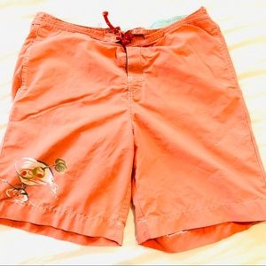 Tommy Bahama swim trunks mesh lined
